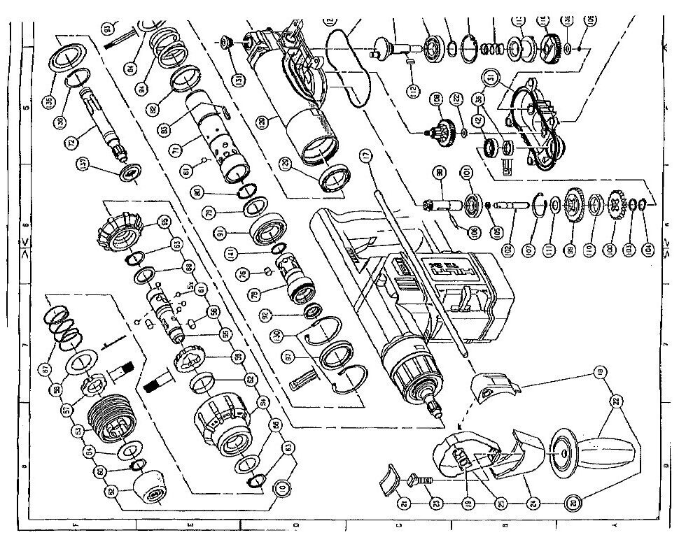 hilti te 70 parts diagram  hilti  free engine image for