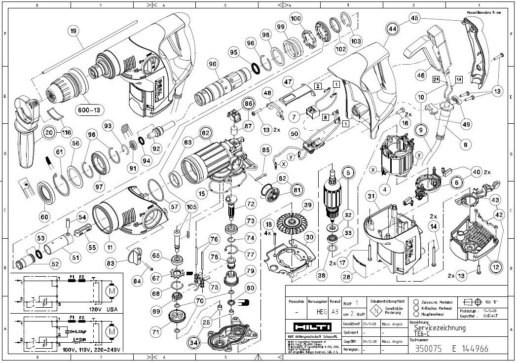 hilti te 22 parts diagram  hilti  free engine image for