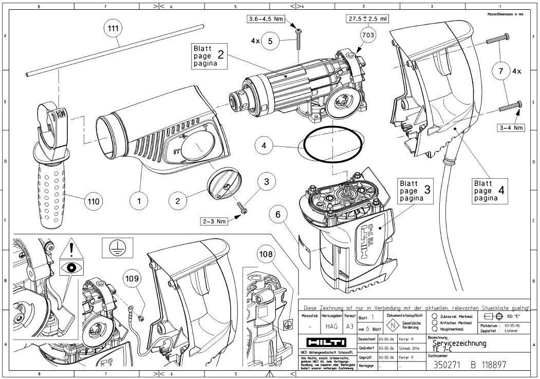 hilti dsh 700 parts diagram  wiring  wiring diagram images